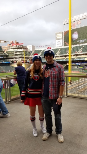 "Go Twins! Fan Appreciation Weekend 2016 at Target Field. Hooray ""Free Stocking Cap Night""!"